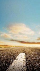 Horizon-Roads-IPhone-5-Wallpaper