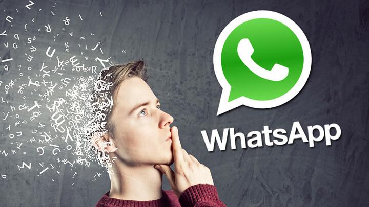 varias funções do whatsapp