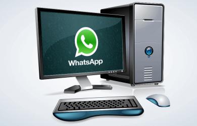 whatsapp no pc iphone