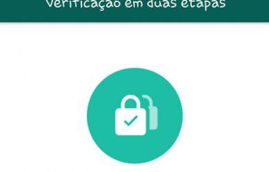 WhatsApp cria verificação em duas etapas