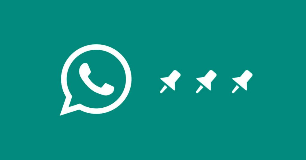 Como fixar conversas ou grupos do WhatsApp no topo