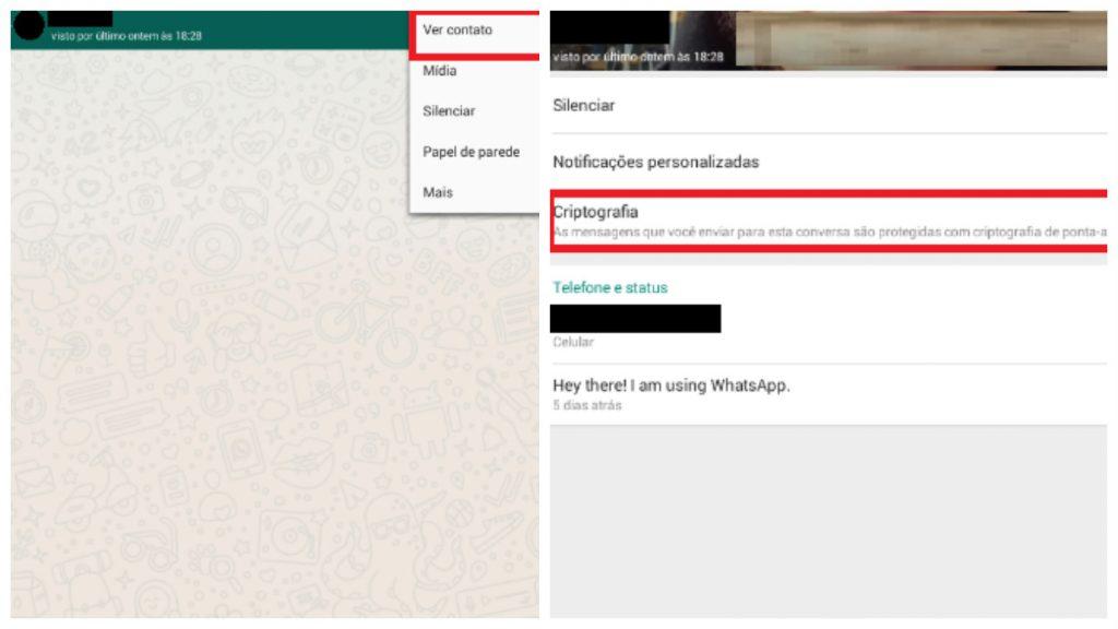 Whatsapp criptografado ponta a ponta 2