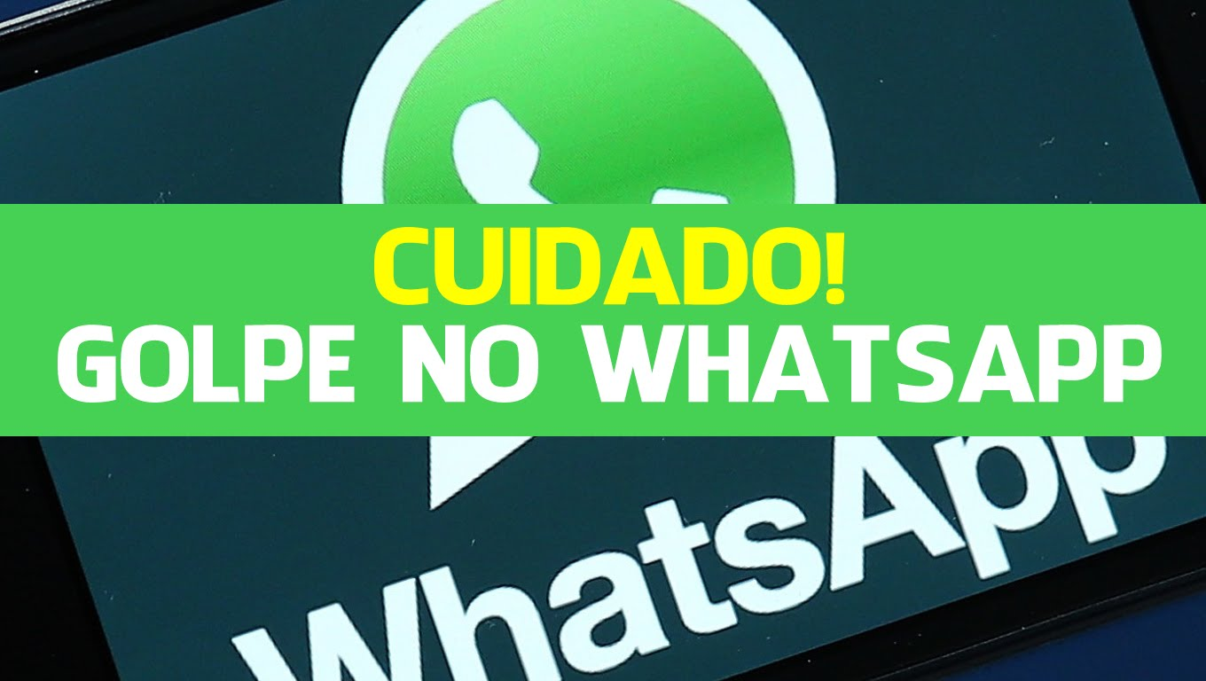 Golpe no WhatsApp
