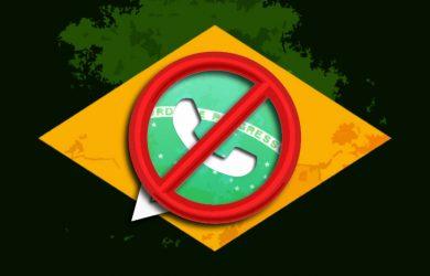 Bloqueio do WhatsApp no Brasil
