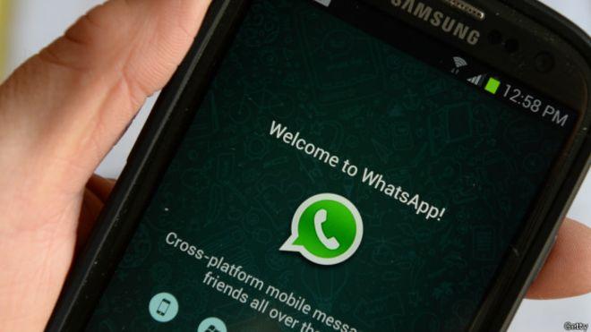 Modelos celulares WhatsApp
