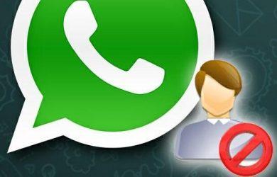 bloquear contato whatsapp