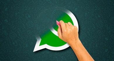 como desinstalar o whatsapp
