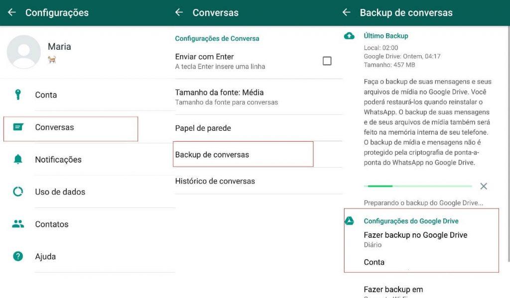 Como recuperar mensagens apagadas no Whatsapp