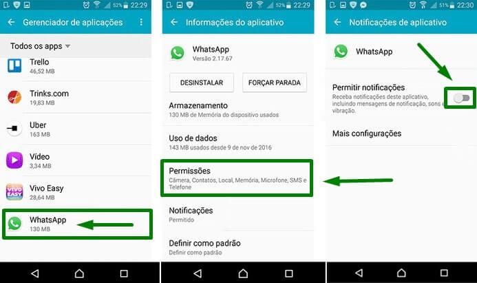 notificacoes do whatsapp